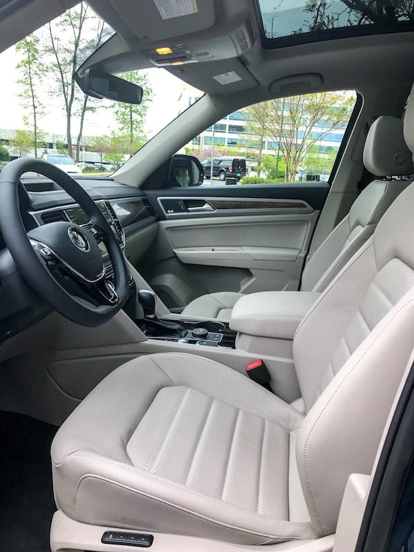 VW Atlas front seat