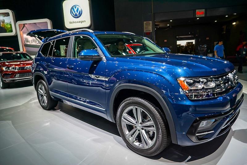 VW Atlas front