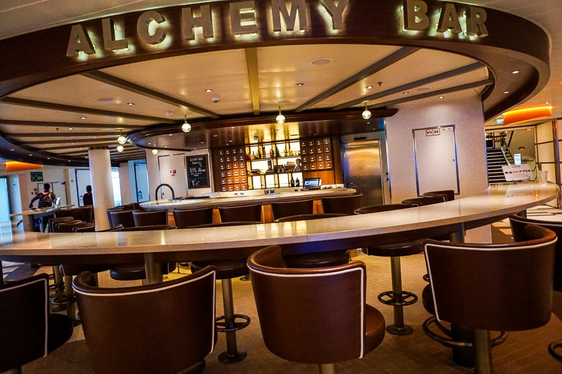 Alchemy Bar - Carnival Vista