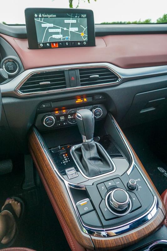 Command control - Mazda CX-9