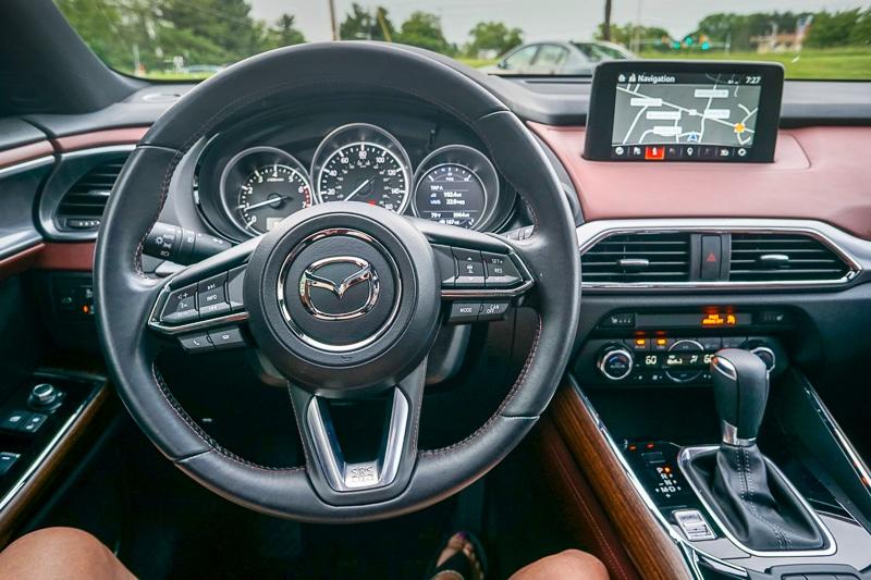 Dashboard - Mazda CX-9