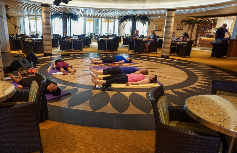 Morning Yoga - Carnival Vista