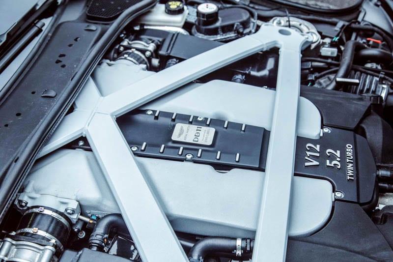 Aston Martin engine - Heels & Wheels