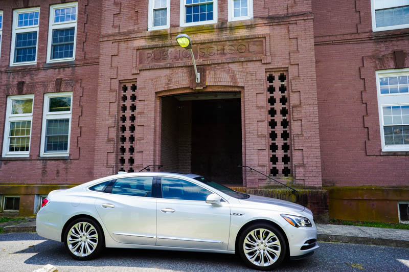 Buick LaCrosse - old school house