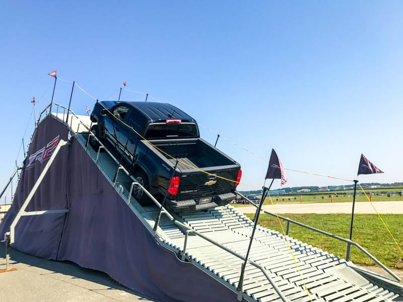 Chevy Colorado tackles the ramp