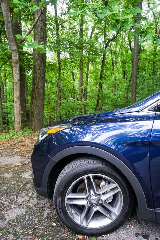 Hyundai Santa Fe - rims