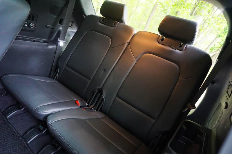Hyundai Santa Fe - third row