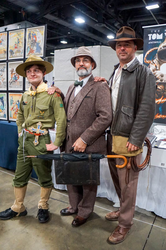 Indiana Jones family - Awesome Con