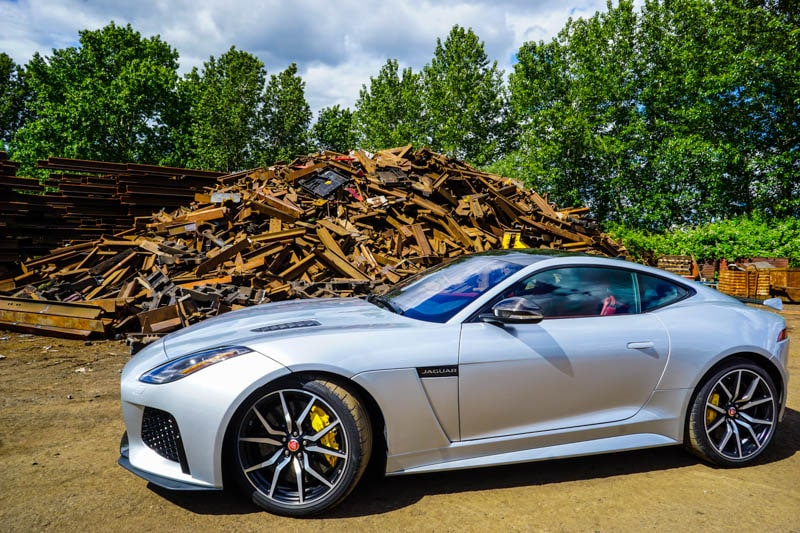 Jaguar F-TYPE - Heels & Wheels