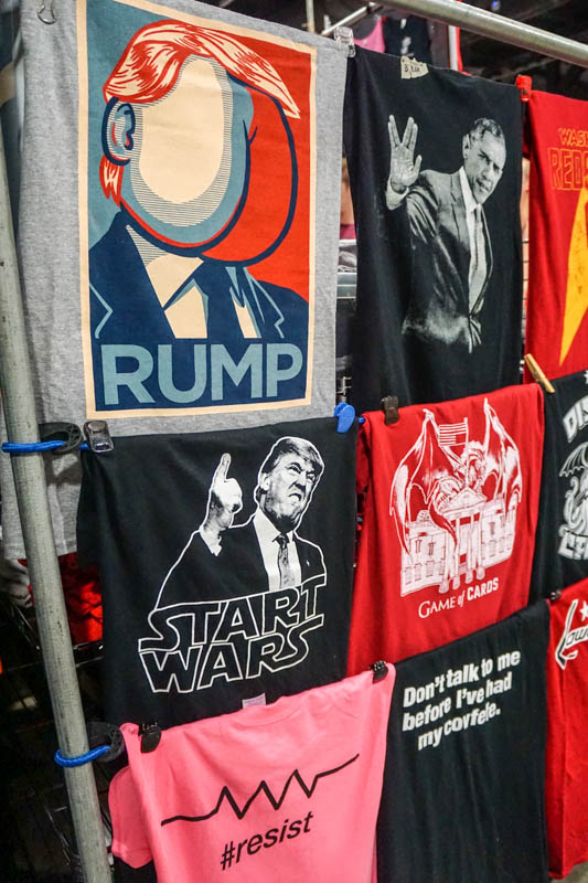 Political merchandise - Awesome Con