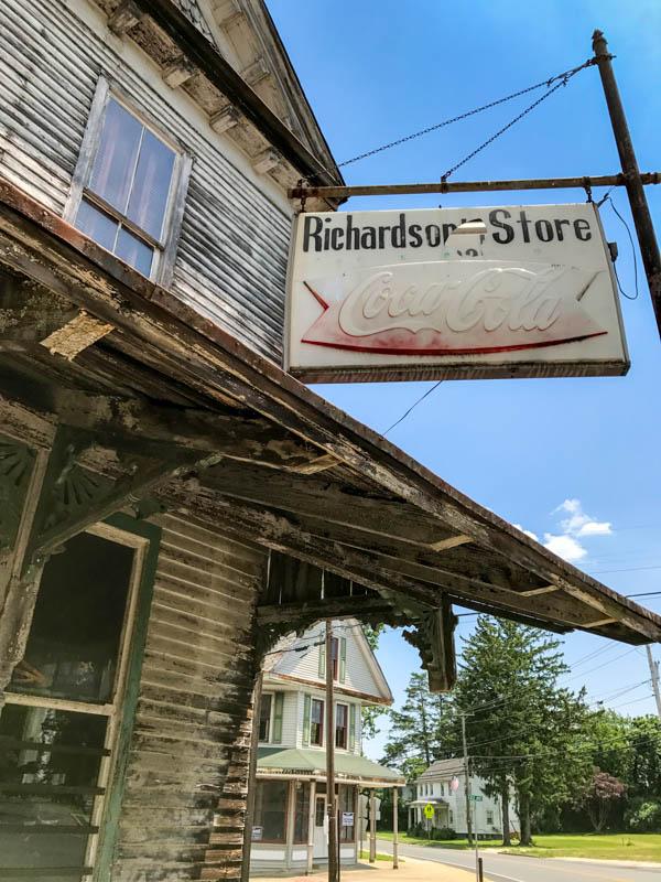 Richardson's Store sign