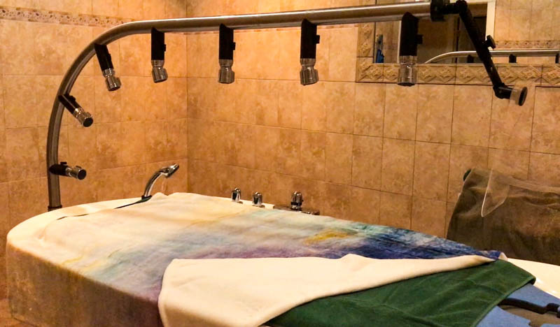 Vichy Shower cutout - Darrell Barrett Salon and Spa