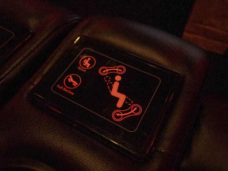 Chair control at AMC theater