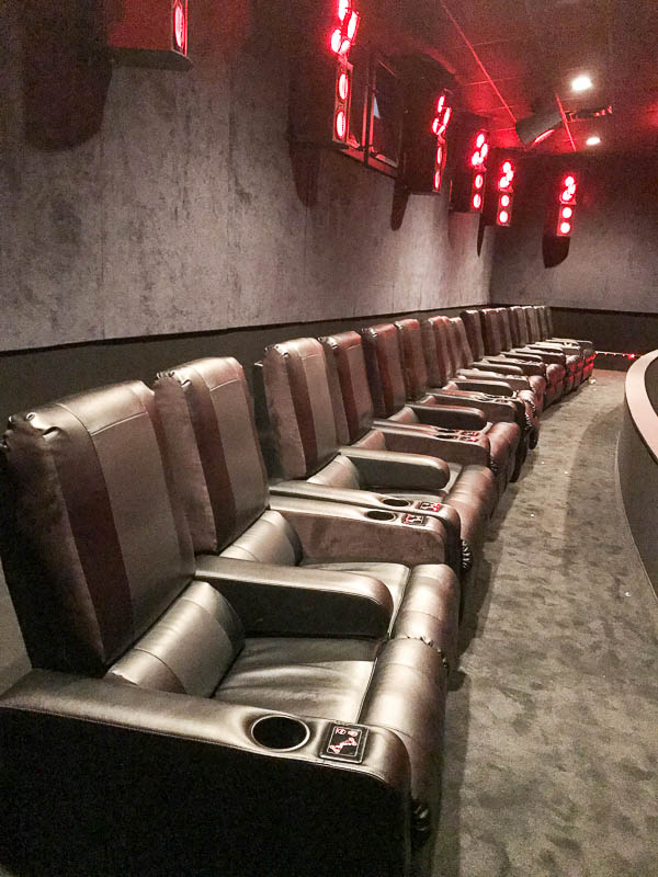 Reserved seating at AMC theater