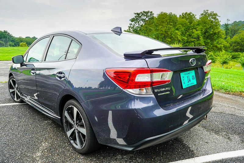 2017 Subaru Impreza exterior rear
