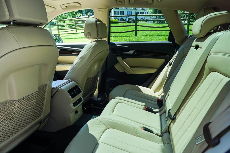 Audi Q5 - the back seat