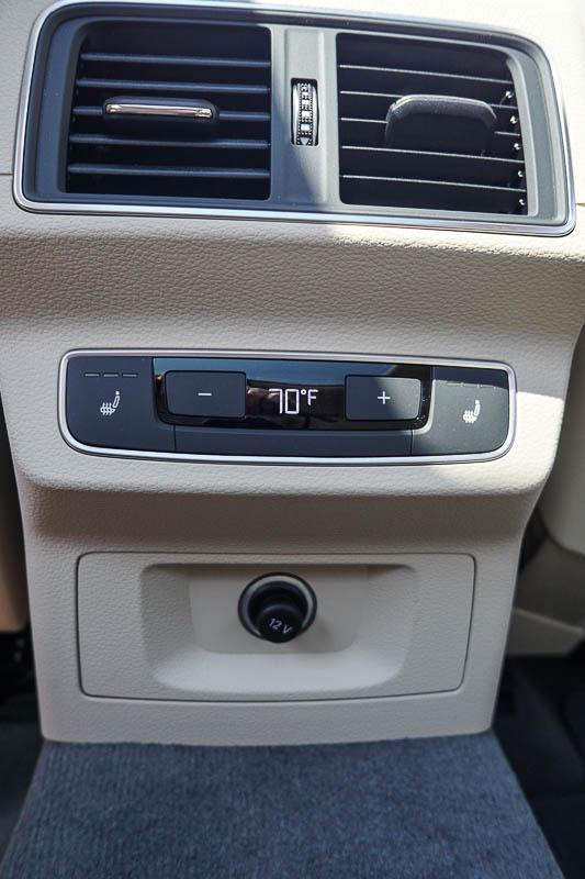 No frills backseat - Audi Q5