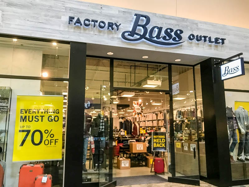 Bass Factory Outlet at Arundel Mills