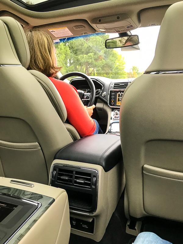 Chauffeur in a Lincoln Continental