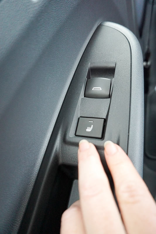 Heated seats in Chevy Bolt rear