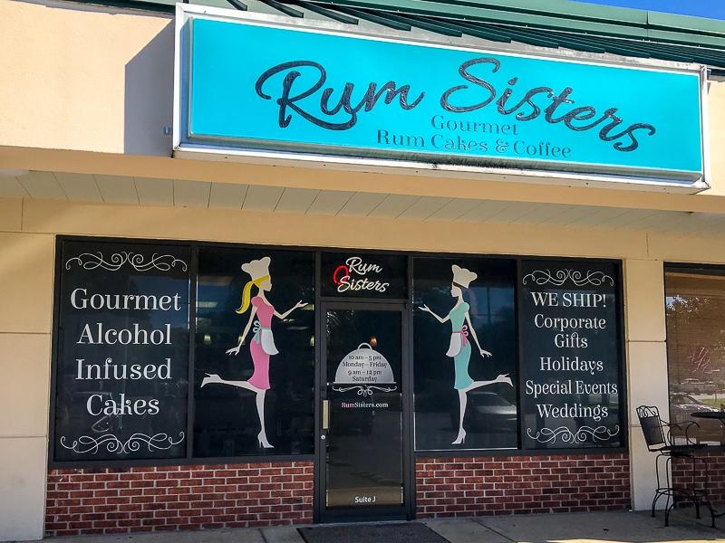 Rum Sisters rum cakes
