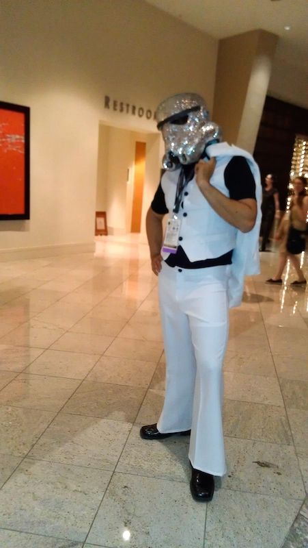 Saturday Night stormtrooper costume