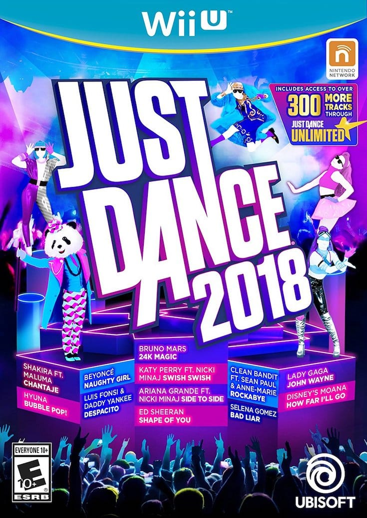 Just Dance 2018 video game
