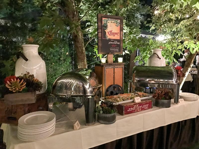 Kia Stinger - movie inspired dinner