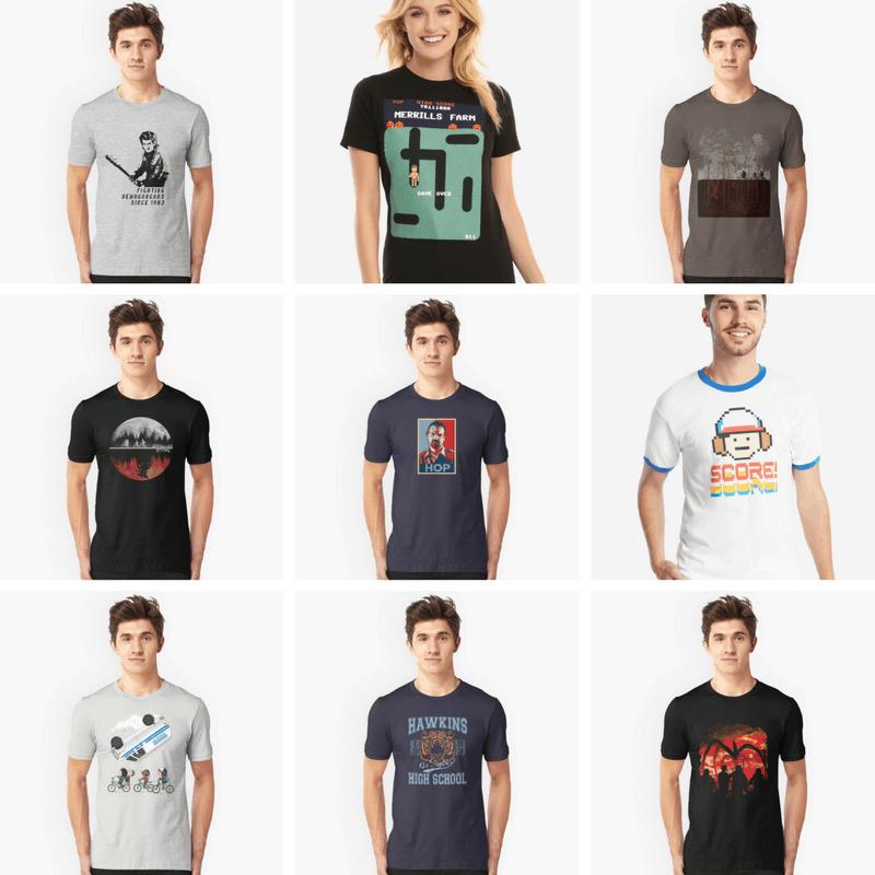 9 best Stranger Things t-Shirts