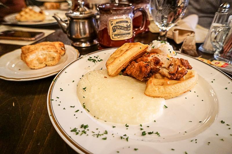 Fairfield Inn breakfast - Gettysburg