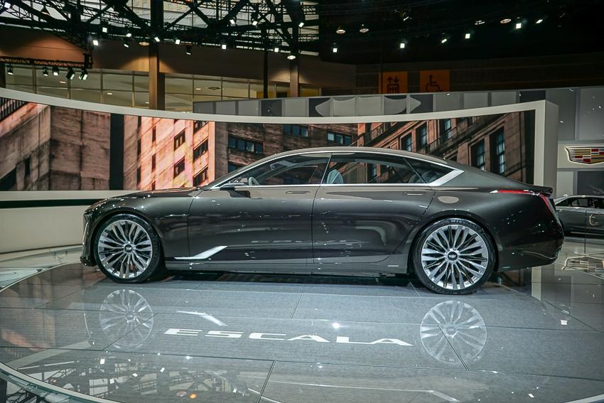 Auto Shows-Cadillac Escala