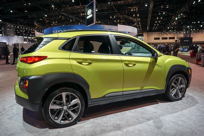 Auto Shows-Hyundai Kona