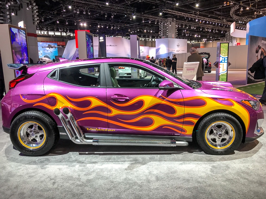 Auto Shows-Hyundai Veloster Ant-Man and the Wasp