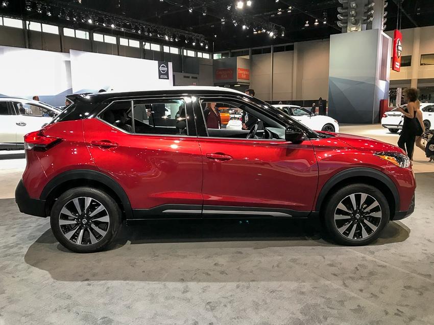 Auto Shows-Nissan Kicks