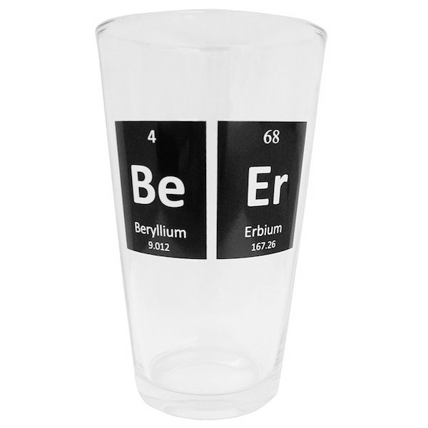 Beer glass for nerds
