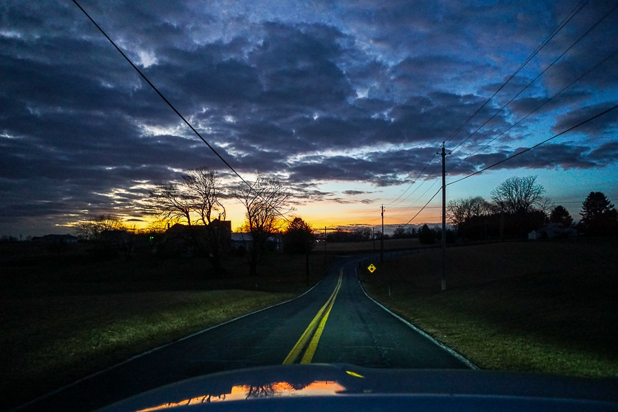 Sunset in Carroll County