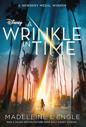 A Wrinkle In Time movie tie-in book edition