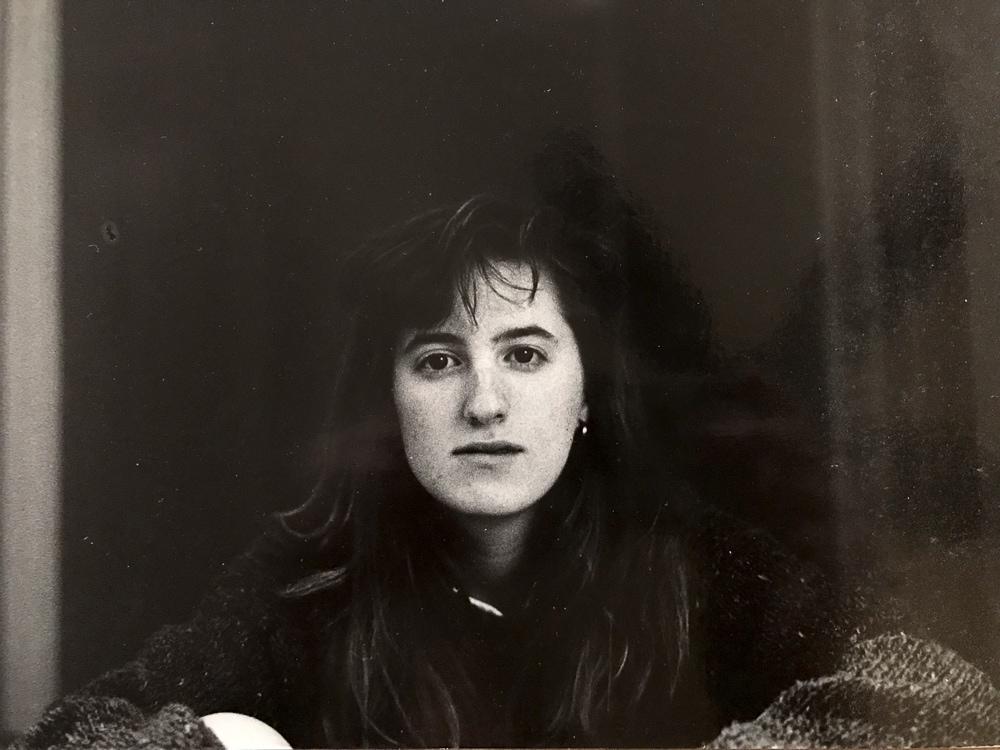 Fadra self-portrait in 1989
