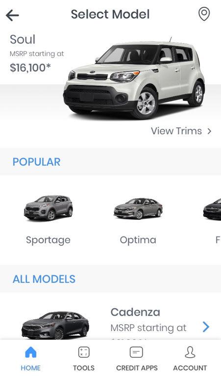 Auto Gravity app