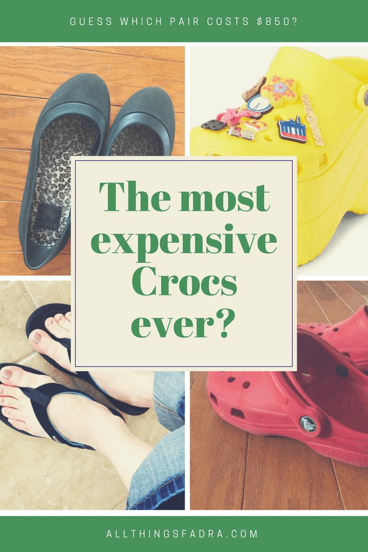 5b7b0d7313d00f Would You Pay  850 For This Pair of Crocs  • All Things Fadra