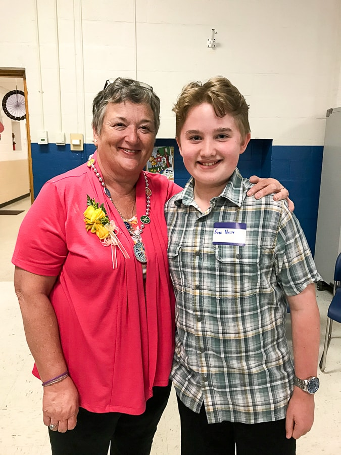 Evan and Mrs. Will