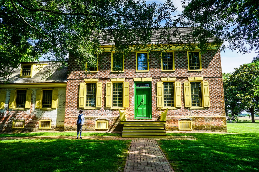 John Dickinson Plantation in Dover, DE