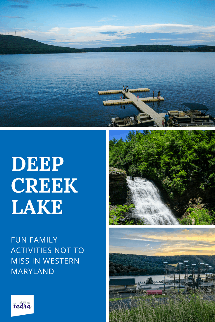 Taking the family to Deep Creek Lake? There's more to this western Maryland location that watersports and skiing. Check out these family activities!