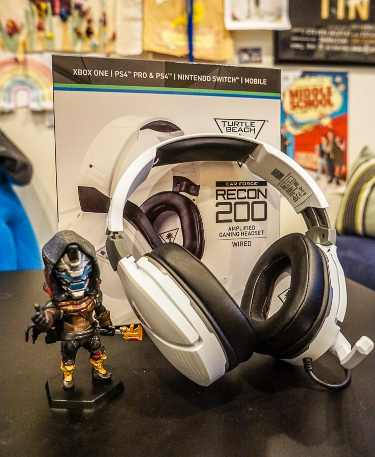 The Turtle Beach Recon 200 headset