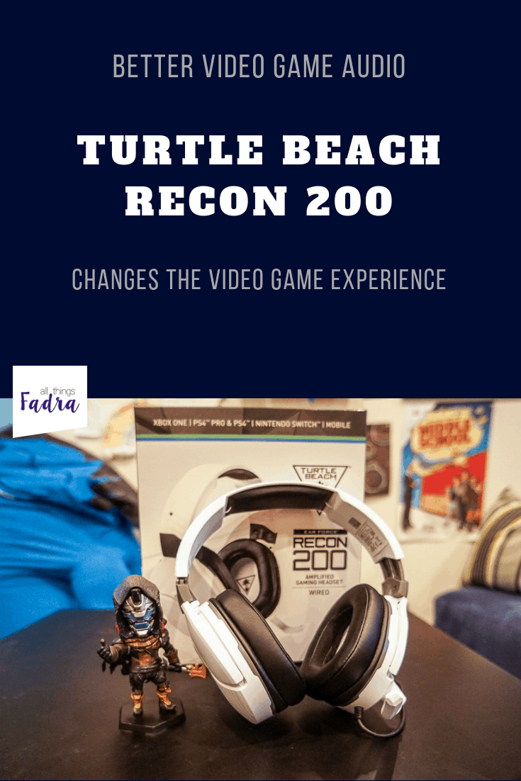 Turtle Beach Recon 200 Gaming Headset Review - All Things Fadra
