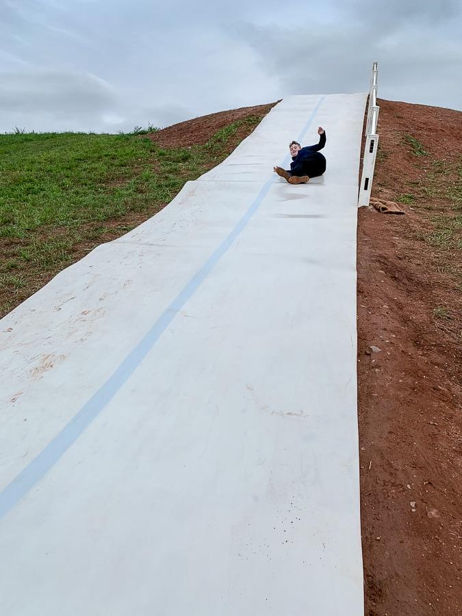 Fields of Adventure hill slide