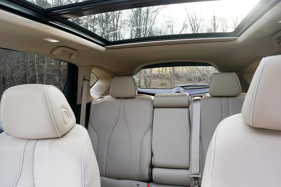 Acura RDX spacious rear