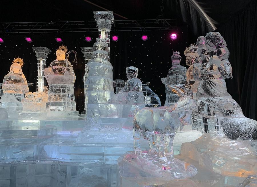 ICE! Nativity Scene