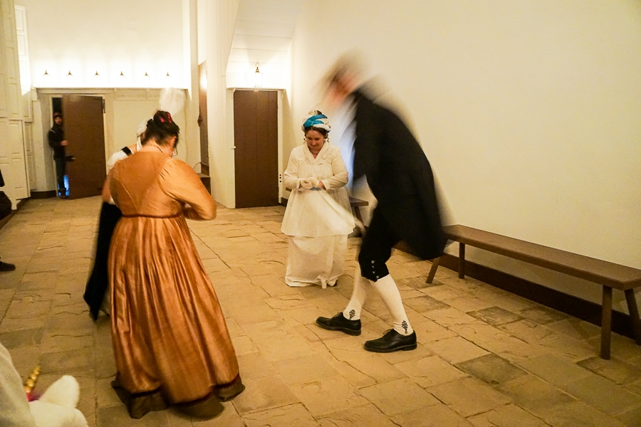 Dancing the minuet at Mount Vernon