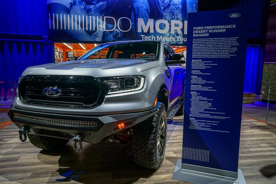 LA Auto Show-Ford Ranger